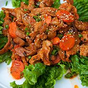 Korean Spicy Pork  (Je-Yuk-Bokk-Eum, 제육볶음)