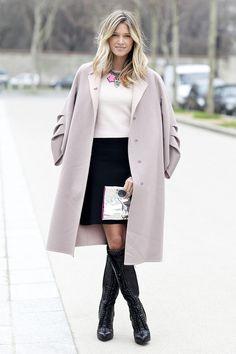 Street Style - Helena Bordon em Paris com look inverno
