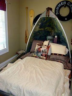 Canoe Bed!