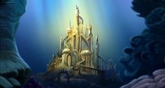 Disney challenge: Little Mermaid Castle New Wallpaper Iphone, Disney Wallpaper, Wallpaper Backgrounds, Trendy Wallpaper, Little Mermaid Castle, Ariel The Little Mermaid, Mermaid Disney, Atlantis, Disney Movie Characters