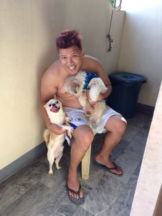 My partner in life fernan with wendy and keekoi