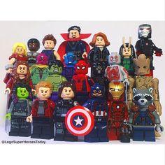 The Avengers: Infinity War Lego superheroes #marvel