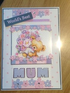 Hunkydory Mother's Day card