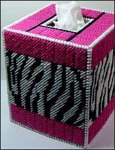 Zebra Print Kleenex Box