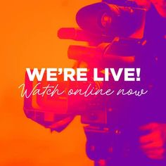 Were Live Colorful Video Camera Church Graphic Design, Graphic Design Fonts, Church Design, Church Welcome Center, Church Backgrounds, Church Events, Church Quotes, Instagram Design, Youth Ministry