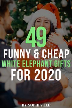 the best white elephant gifts!! can't wait to bring one of these to my white elephant gift exchange this year