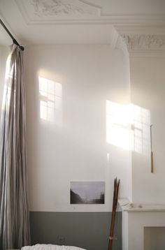 Patches of Sunlight on Tall Walls, Plaster Detailing