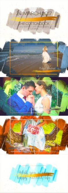 Wedding Slideshow Invitation  • After Effects Template • See it in action ➝ https://videohive.net/item/wedding-slideshow-invitation/21056290?ref=rabosch