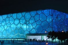 Read all about this water Cube - A real world rectangular prism/building - Bubble_aquatic_center