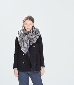 Image 3 of SOFT SCARF from Zara