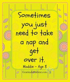 Healing naps. Visit us at: www.GratitudeHabitat.com #inspiration-quote #healing