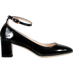 Repetto Electra patent mary jane (€420) ❤ liked on Polyvore featuring shoes, black, patent mary jane shoes, black patent leather mary janes, black patent shoes, repetto and mary-jane shoes