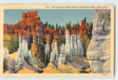 The Queen's Court Bryce Canyon National Park Utah