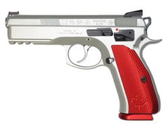 CZ 75 SP-01 SHADOW CANADIAN EDITION SILVER