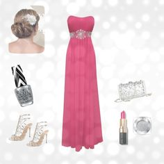 """""""Pink Prom"""" by mdharding on Polyvore"""