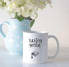 Sweary graduation mug