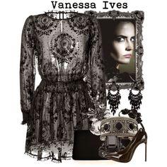 Madame Macabre: Vanessa Ives (Penny Dreadful) en polyvore y tutori...