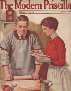 Modern Priscilla Magazine, January 1917