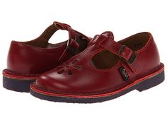 Aster Kids Dingo (Toddler/Little Kid) Red Leather - Zappos.com Free Shipping BOTH Ways $80