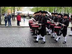 The Top Secret Drum Corps, Switzerland, Norwegian Military Tattoo 2012 - YouTube