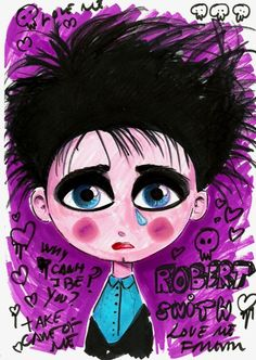 Robert Smith illustration