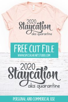 Strange times we're living in these days. I wanted to put together some designs that would be lighthearted, funny and inspirational. Hopefully, these put a smile on your face and provide a distraction from the Cricut Fonts, Cricut Vinyl, Svg Files For Cricut, Cricut Tutorials, Cricut Ideas, Cricut Craft Room, Free Svg Cut Files, Vinyl Designs, Shirt Designs