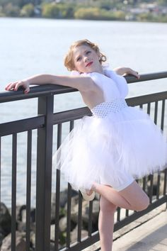 Marilyn Monroe Inspired Tutu Dress by SweetNSassyBeads on Etsy, $50.00