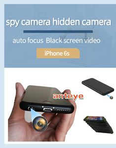 This is a portable mobile phone spy camera that can make phone calls. We modified the rear camera of the iPhone 6s to the earphone hole at the bottom of the phone, which will not affect the normal use of the phone. With the help of dedicated APP software, black screen recording can be achieved. All parameters of the mobile phone are subject to the parameters of the official website. Hidden Spy Camera, Black Screen, 4k Hd, Used Iphone, New Phones, Security Camera, Easy To Use, The Help, Software