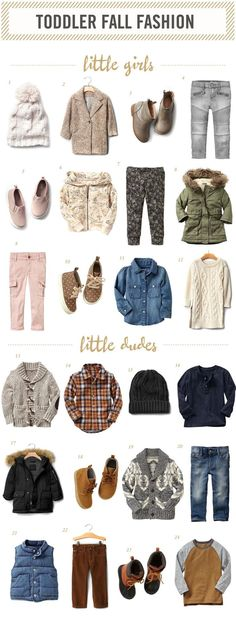 | Toddler Fall Fashion |