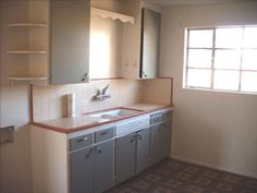 vintage original kitchen cabinets 1954 Phoenix Arizona home house photo