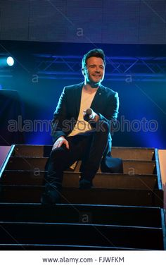 March, Former lead (Shane Filan) for the all Irish Band Westlife plays solo at Reading's Hexagon. Paul King/Alamy Live News - FJWFKM from Alamy's library of millions of high resolution stock photos, illustrations and vectors. Shane Filan, Reading Berkshire, Irish Eyes Are Smiling, Live News, Family Christmas, Plays, Vectors, March, King