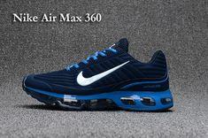 f417cdc4bf434f Nike NIKE AIR MAX 360 Dispensing Nanotechnology Mens Shoes Dark Blue Blue  White 40-47