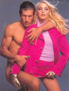 Nadja Auermann Gianni Versace Ad - Fw. 1994