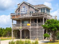 Salty Dawg, 4 bedroom Semi-Sound Front home in Rodanthe, OBX, NC