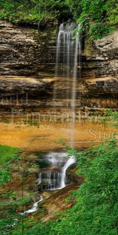 North American Landscape Panoramic Images, Photo Library, Waterfall, Stock Photos, Landscape, World, American, Outdoor, Space