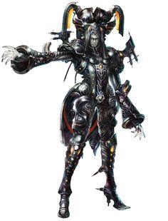 Egil-Leader of Mechonis. Great design!