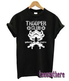 TROOPER CLUB T-Shirt #fashion #tshirts #girl #style #teesshop Stormtrooper T Shirt, Girl Style, Fasion, Cool T Shirts, Behavior, Club, Times, Mens Tops, Outfits