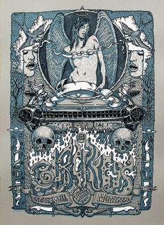 The Black Keys Poster by David Welker@Rene