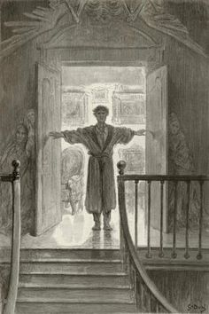 O Corvo - obra de Edgar Allan Poe. 13_Houve Trevas e nada mais