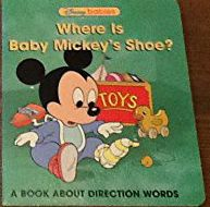 Where is baby Mickey's shoe