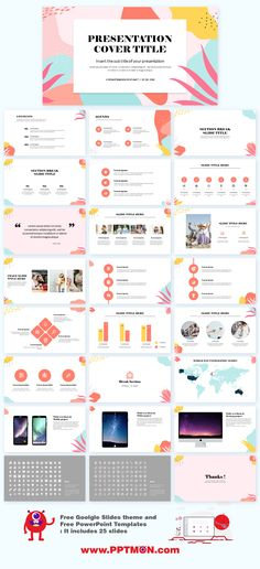 Colorful Memphis Presentation Templates – Free Google Slides Theme and PowerPoint Template