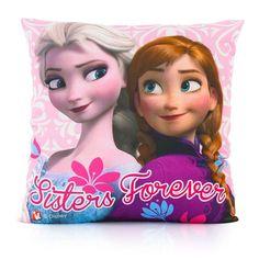 Disney Frozen Kussen - Anna en Elsa #disney #frozen #kussen #kinderkussen #annaenelsa