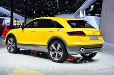 Audi TT Offroad : le concept coupé hybride à Pékin