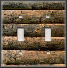 Interruptor De Luz De Metal Plate Cover-Arte Moderna Tons Azul Home Decor