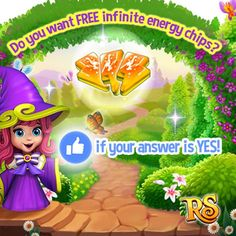 Do you want some INFINITE ENERGY CHIPS as a free gift?  Then hit LIKE if your answer is YES!   If there are more than 3000 LIKES from all versions tomorrow King Jarvis will send everyone 1 INFINITE ENERGY CHIP tomorrow! If there are more than 4000 LIKES from all versions tomorrow King Jarvis will send everyone 2 INFINITE ENERGY CHIPS tomorrow! If there are more than 5000 LIKES from all versions tomorrow King Jarvis will send everyone 3 INFINITE ENERGY CHIPS tomorrow!   What are you waiting…