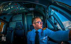 【まさに絶景】航空機のパイロットがコックピットから撮影した写真が美しすぎる
