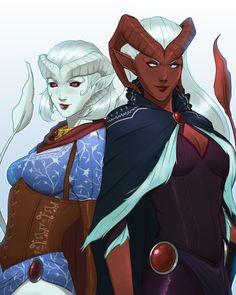 Zahra Hydris is a Tiefling Warlock and member of the Slayer's Take guild. Lillith Daturai is her cousin. Zahra is played by Mary Elizabeth McGlynn. Zahra, along with Lyra, was a guest party member with half of Vox Machina. Together, they were required find and slay an adult white dragon in order to gain entrance to the Slayer's Take, a hunting guild in Vasselheim.