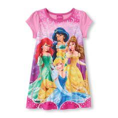 Girls Disney Princess Nightgown/Pajama Dress New with Tags!! Sz 4T Adorable!! #Disney #Nightgown