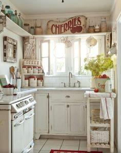 Cherries, Country Kitchen