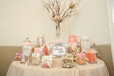 LDS Wedding Reception, LDS Wedding Reception Inspiration, LDS Wedding Reception Ideas, Candy Buffet, WeddingLDS.com